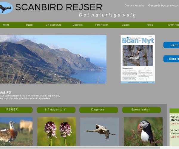 Scanbird Rejser